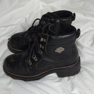 Harley-Davidson Cycle women's short boots